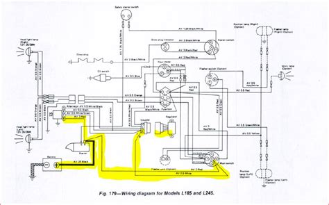 tractor alternator wiring diagram jinma hydraulic
