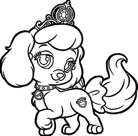 girl pumpkin pup puppy dog coloring page wecoloringpagecom