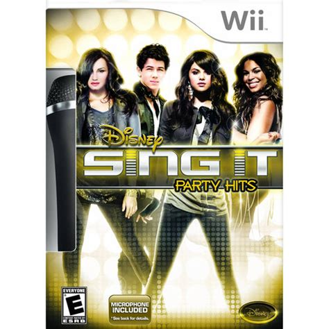 Wii Console At Walmart With 50 Gift Card - disney sing it party hits with microphone disney sing it party hits wii disney wii