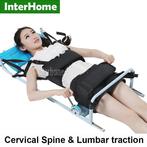 traction for back online buy wholesale lumbar traction bed from china lumbar