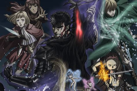 Anime Berserk Complete berserk 2016 2017 anime review gamer