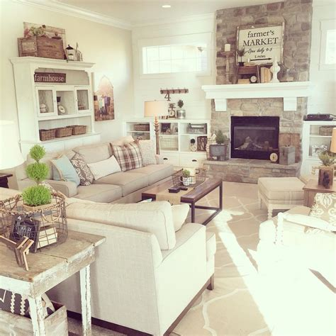 Neutral Living Room With Fireplace 1000 Ideas About Neutral On Furniture