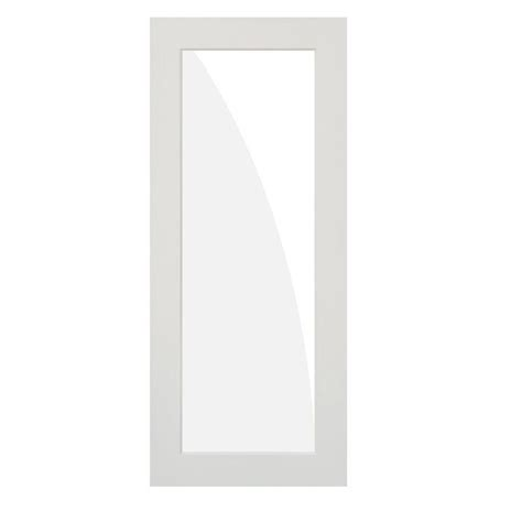 Primed Doors Interior Krosswood Doors 30 In X 80 In 1 Lite Solid Mdf Primed Interior Door Slab Kw Sh402 2668