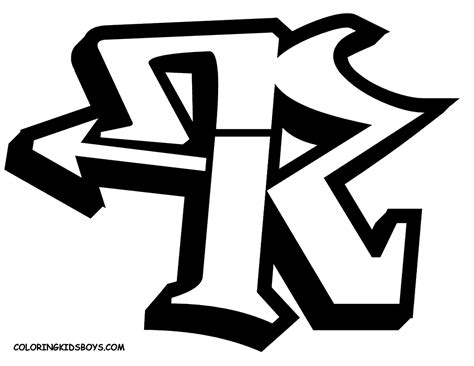 letter    special alphabet graffiti collection