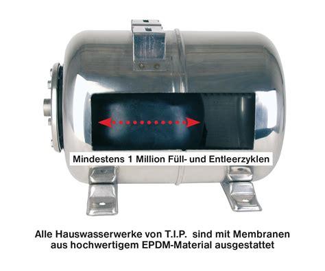 Einhell Hauswasserwerk Druckschalter Einstellen by T I P 31140 Hauswasserwerk Hww 4500 Inox Edelstahl