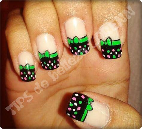 imagenes de uñas decoradas con verde tips de belleza loren u 209 as decoradas con corbatin verde