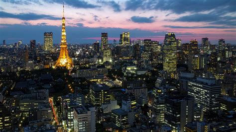 City Light Capital by Japan Capital Tokyo City Lights Tower Houses