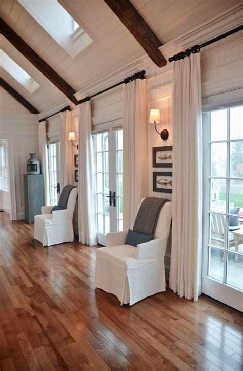 Hanging Curtains Higher Than Window Decor Best 25 Farmhouse Windows Ideas On