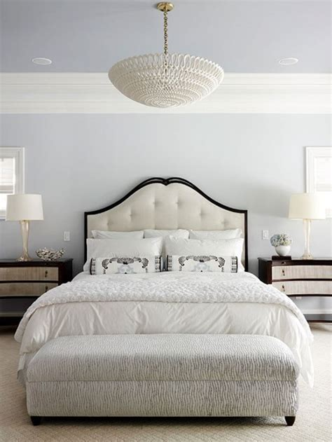 white and black headboard bhg centsational style