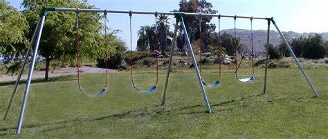 bay swing s84 standard 8 high 4 swing 2 bay swing