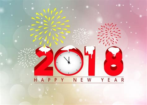 new year by the numbers vector happy new year for free about 3 251