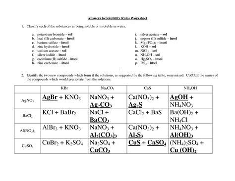 Solubility Worksheet Answers by 15 Best Images Of Who Worksheet Divisibility