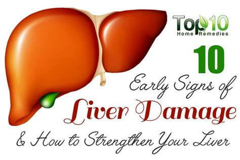 Liver Damage Stool Color by 10 Early Signs Of Liver Damage How To Strengthen Your
