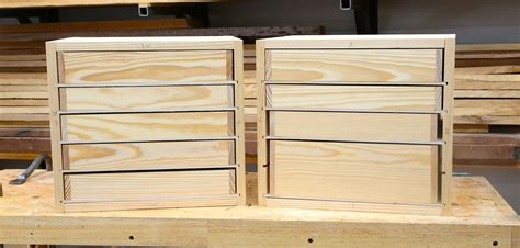 Building Drawers For Cabinets by How To Build Woodshop Drawers Free Diy Tool Drawer Plans