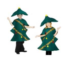 childs christmas tree costume fancy dress age 7 9 years