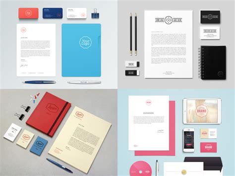 15 Free Branding Psd Mockup Designs Wdexplorer Branding Kit Template