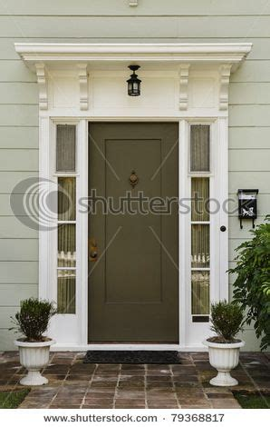 Olive Green Door Color Light Gray Exterior For Siding Olive Green Front Door