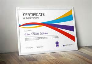 20 professional certificate template psd indesign and