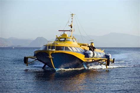fast boats to greek islands greek island hopping by hydrofoil