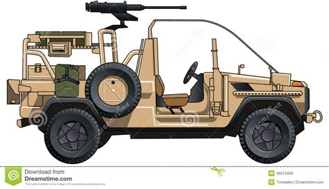 modern army jeep army jeep stock illustration illustration of modern