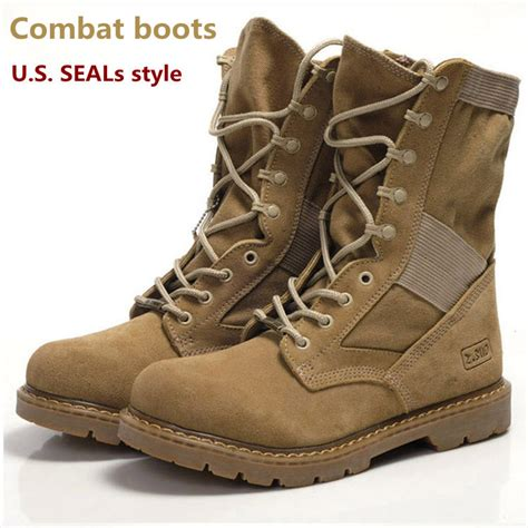 mens boots 2014 fashion new arrival 2014 shoes canvas genuine leather combat