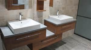 nice Meuble Avec Vasque Salle De Bain #1: meuble-salle-de-bain-bambou-design.jpg