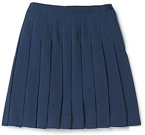 wholesale s school pleated skirt in navy blue