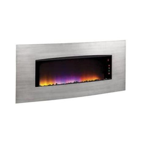 Home Depot Wall Fireplace by Hton Bay Westridge 34 In Wall Mount Electric Fireplace