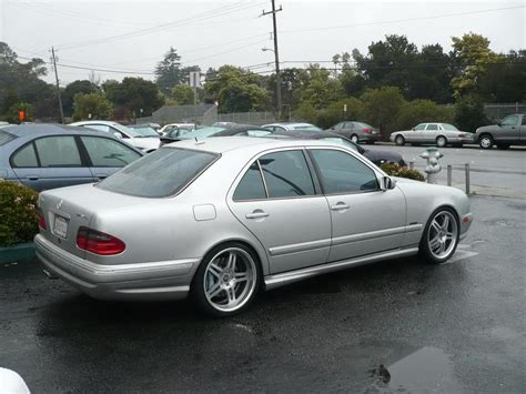 of mercedes mercedes w210 e55 amg on 19 quot dpe wheels benztuning