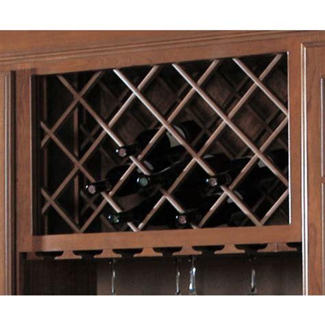 omega national cabinet mount wine bottle lattice racks