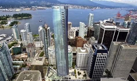 How Much Is 500 Square Feet by Trump Tower Vancouver Amp Hotel In Vancouver S Coal Harbour