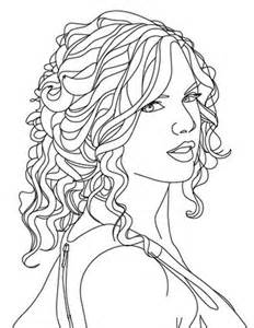 taylor swift drawings coloring pages