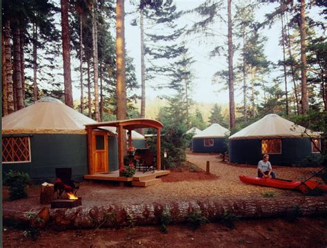 state park yurts how it all began pacific yurts