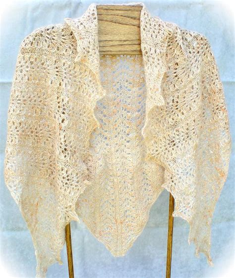 pattern for triangle shawl elegantly simple triangle shawl by jackiees craftsy