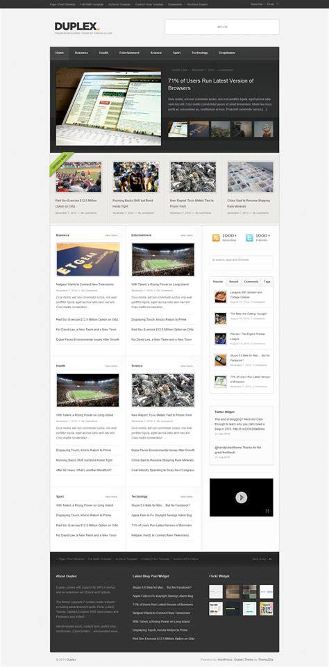 All Themes Plugins From Themezilla themezilla duplex theme v1 3