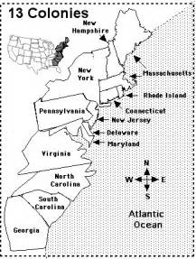 us colonies map printable 13 colonies map quiz printout enchantedlearning