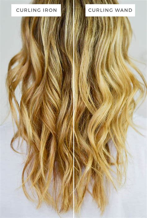 different hair styles withthe wand curling iron vs curling wand advice from a twenty something
