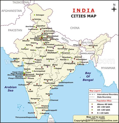 Find By Name In India India Map With Cities My