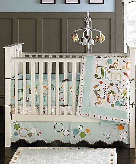 jcpenney crib bedding migi by bananafish 174 alpahbet 3 pc baby bedding jcpenney