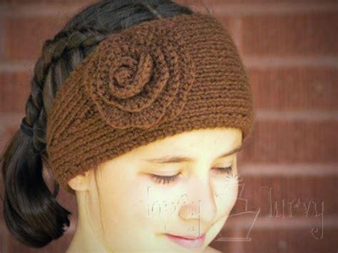 knitting pattern for simple headband ridiculously simple knit and crochet headband crocheted