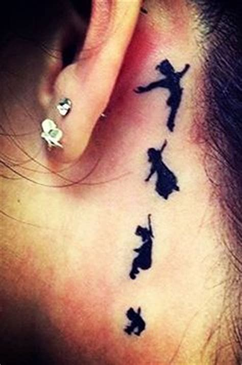 peter pan ear tattoo tattoos on watercolor tattoos pan