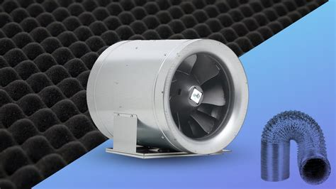 quietest inline fan for grow room how to inline duct fans tips for fan noise most