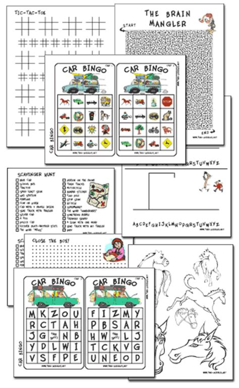printable games for car rides free printable travel games and activities couponing 101