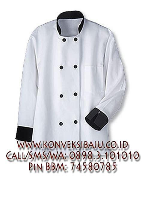 desain baju chef seragam koki konveksi baju
