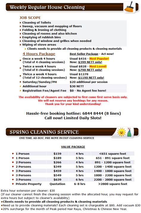 how much does office cleaning cost in singapore