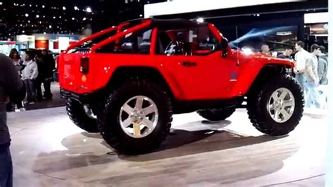 jeep prototype truck 2010 jeep concept truck youtube