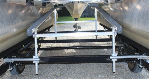 boat trailer rollers pontoon diy pontoon boat trailer diy do it your self
