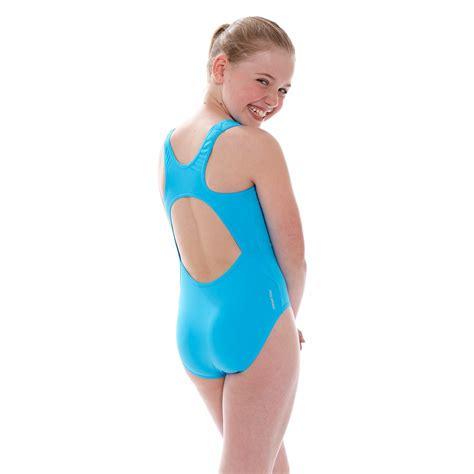 junior girls swimwear junior girls swimwear zoggs junior girls cottesloe sportsback swimsuit blue
