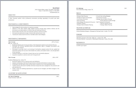 sales clerk responsibilities resume