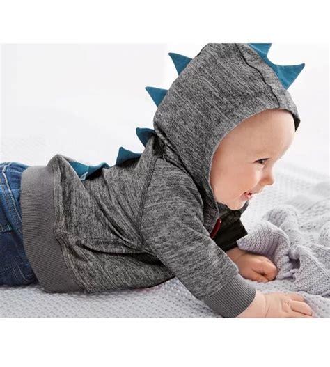 Hoodie Zipper The Dinosaur Anak 3 Boy Clothing fashion dinosaurs zipper hoodie coat baby boy cardigan animal sudaderas con capucha hoodies baby